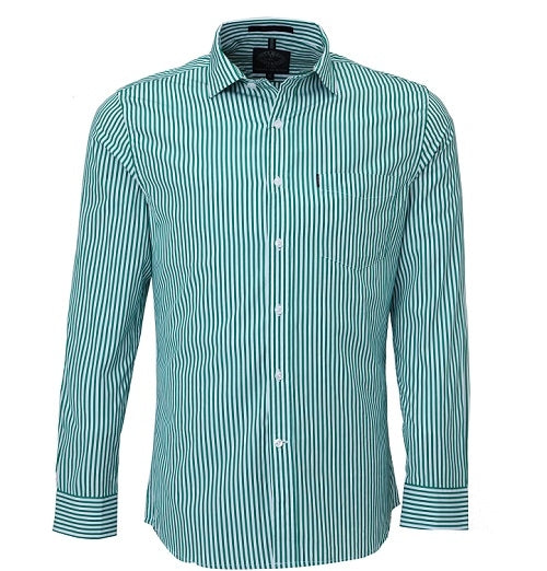 Hutcheon and Pearce Pilbra Men's Stiped Shirt