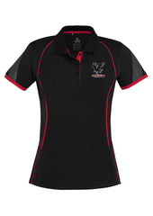 Wagga Crows Junior Rugby Razor Polo-Adults