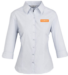 Ladies 3/4 Sleeve Foodworks Shirt