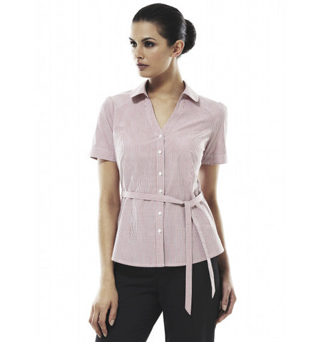 Picture of Ladies Short Sleeve Berlin Elegance Shirt