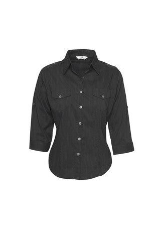 Ladies 3/4 Sleeve Brooklyn Shirt