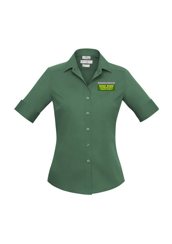 Wagga Four Wheel Drive Club Ladies Verve S/S Stretch Shirt