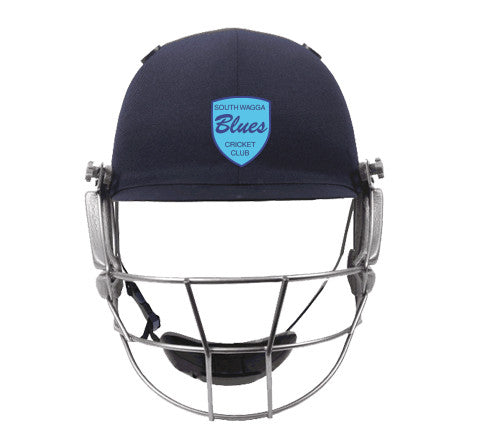 South Wagga Blues Cricket Club Helmet LOGO APPLICATION ONLY