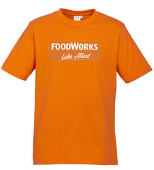 Mens Foodworks Orange Tee