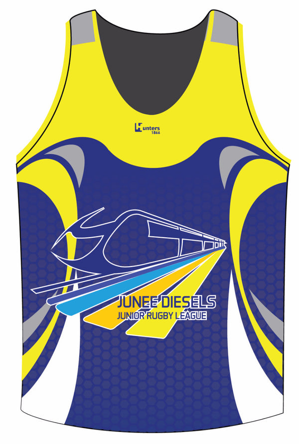 Junee Diesels Juniors Training Singlet