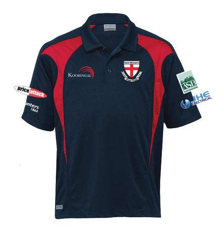 Picture of **CUSTOM MADE**- SMCC Short Sleeve Training Polo