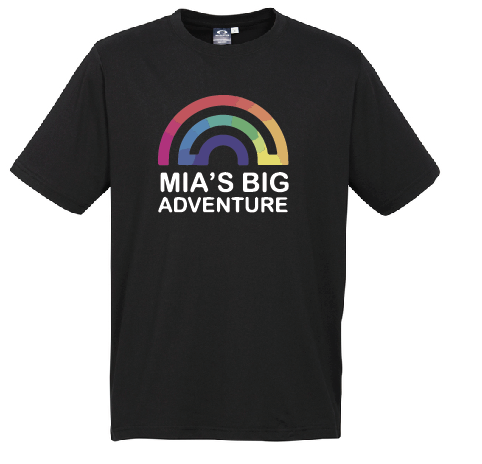 Mia's Big Adventure Kids Ice Tee