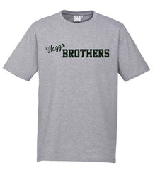 Adults Brothers Tee -  Grey