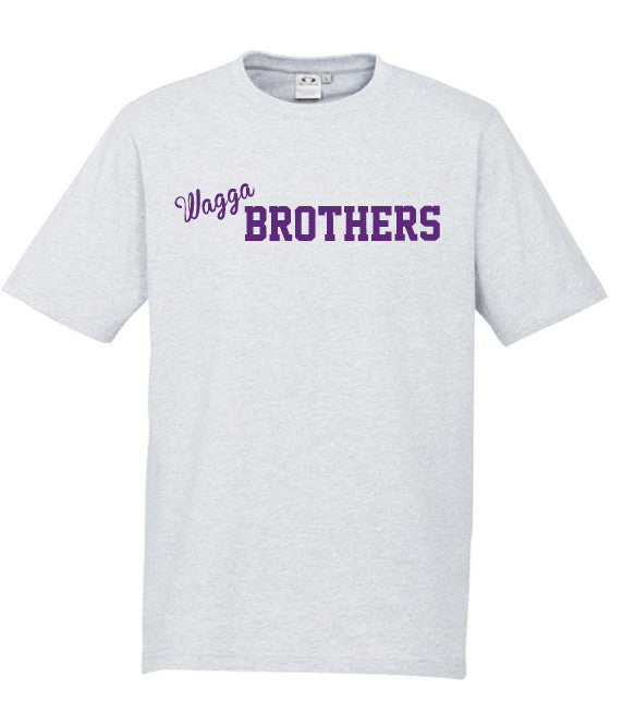 Adults Brothers Tee -  Snow