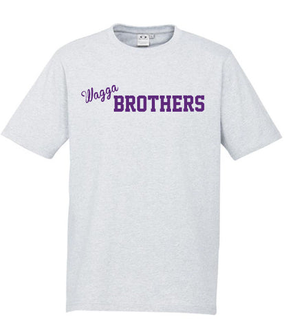 Picture of Adults Brothers Tee -  Snow