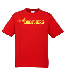 Adults Brothers Tee -  Red