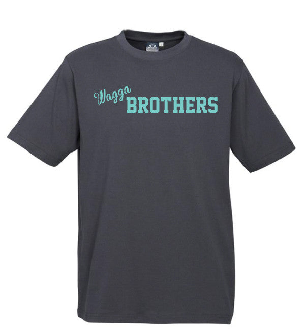 Adults Brothers Tee -  Charcoal