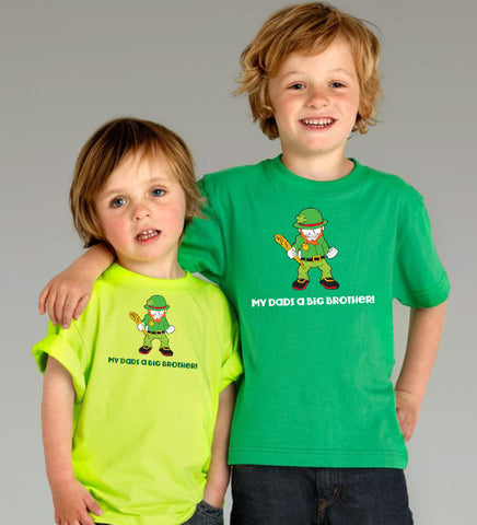 Picture of Kids Brothers Tees - Green