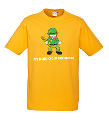 Kids Brothers Tees - Gold