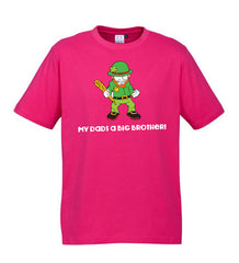 Kids Brothers Tees - Pink