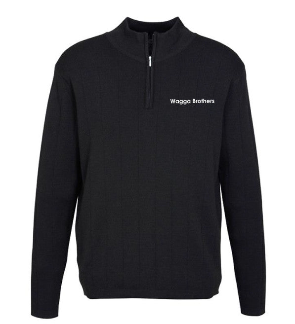 Brothers 1/2 Zip Knitted Pullover