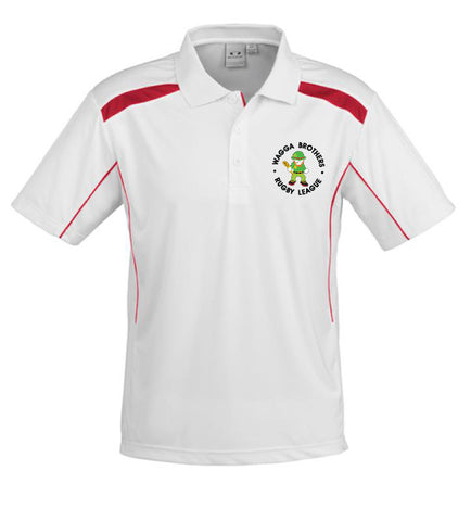 Picture of Brothers Polo - White/Red