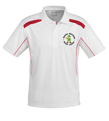 Brothers Polo - White/Red