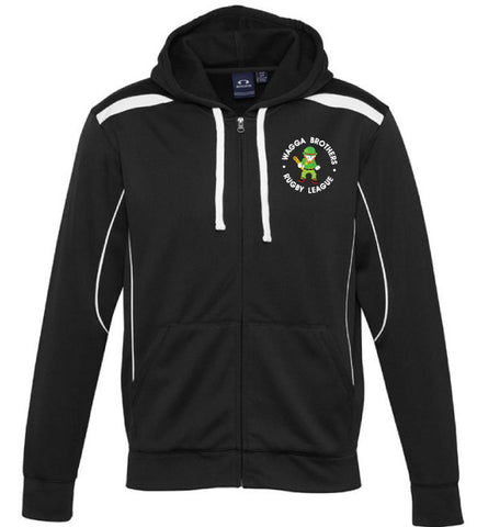 Picture of Brothers Hoodie  - Black/White