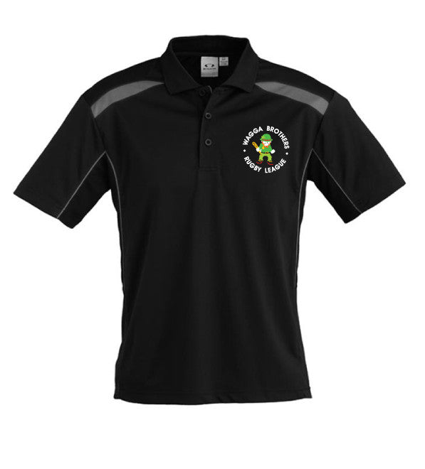 Brothers Polo - Black/Ash