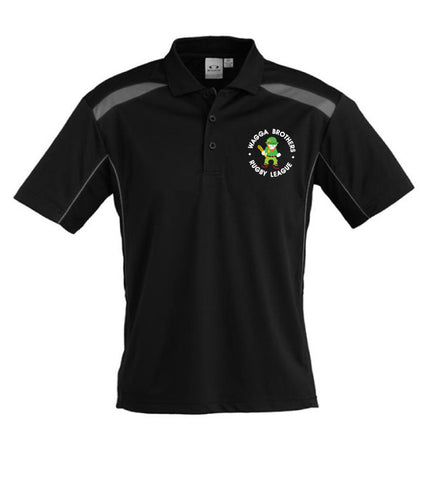 Picture of Brothers Polo - Black/Ash