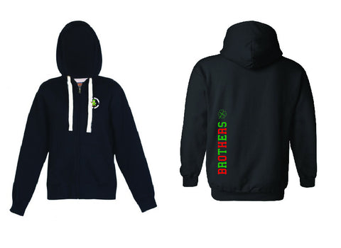 Picture of Brothers Mens Heavy Fleece Zip Hoodie