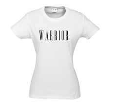 "Mia's Big Adventure Ladies Printed ""Warrior"" Tee"