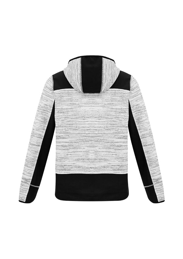 NEW Streetworx Unisex Reinforced Knit Hoodie - Grey/Black