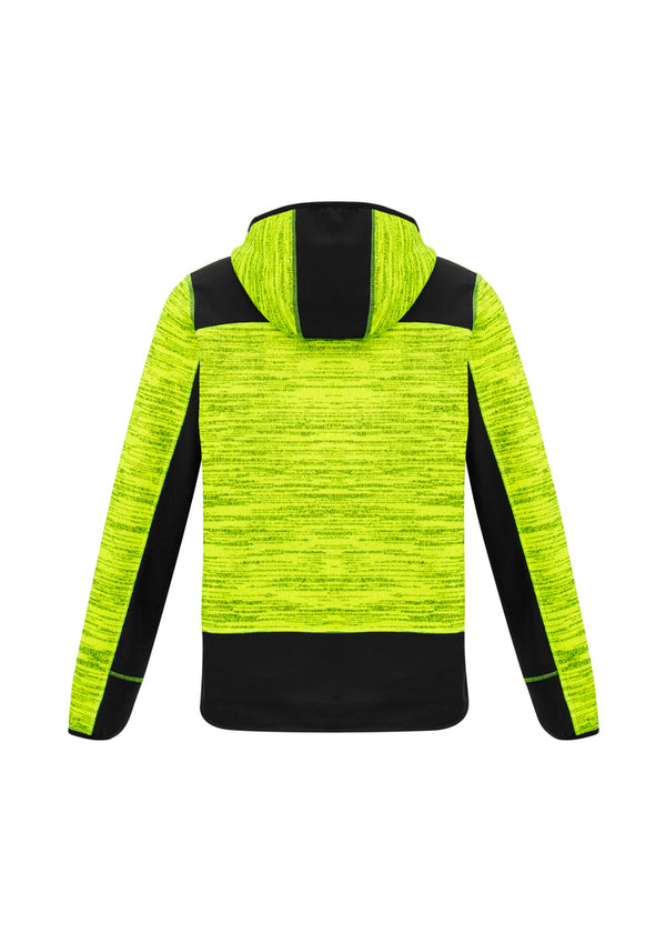 NEW Streetworx Unisex Reinforced Knit Hoodie - Yellow/Black