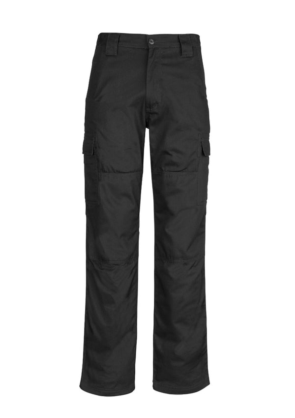 Mens Midweight Drill Cargo Pant (Stout)