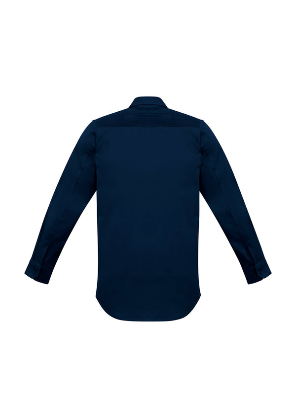 NEW Streetworx Mens L/S Stretch Shirt