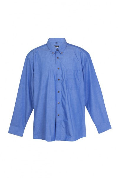 Mens Long Sleeve Business Shirt