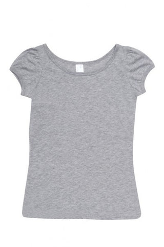 Picture of Ladies American Style Puff Sleeve T-Shirt