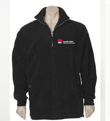 Juvenile Justice 1/2 zip polar fleece