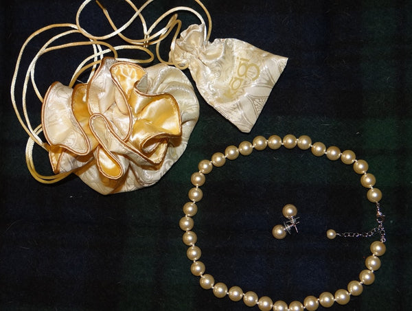 NSW Polocrosse Pearls & Earring Set