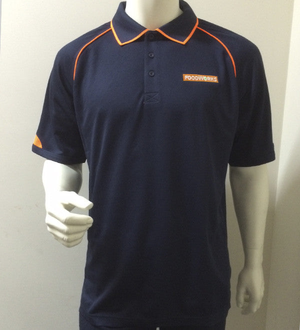 Mens Foodworks Polo