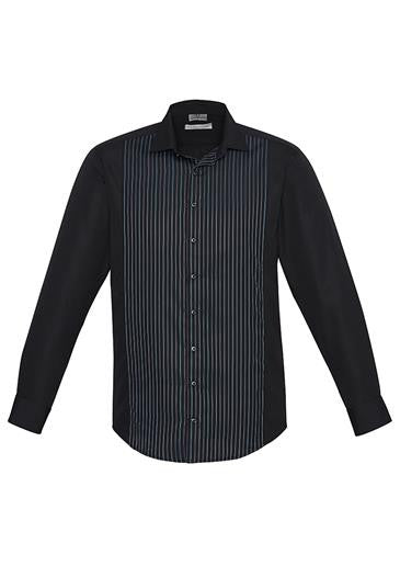Mens Long Sleeve Reno Panel Shirt