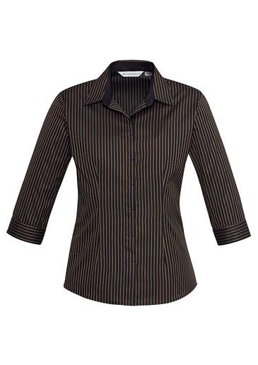 Ladies 3/4 Reno Stripe Shirt