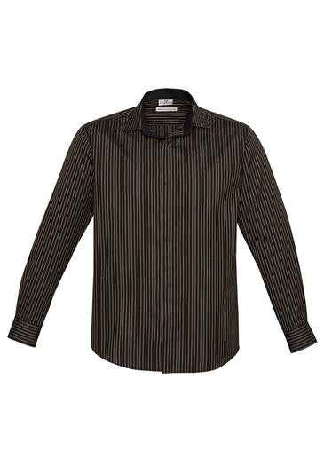 Mens Long Sleeve Reno Stripe Shirt