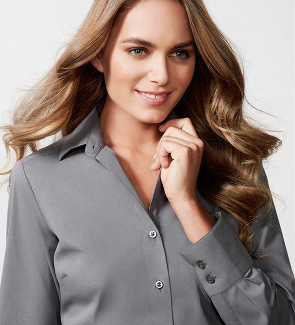 Ladies Verve L/S Stretch Shirt