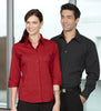 Ladies Manhattan 3/4 Sleeve Shirt