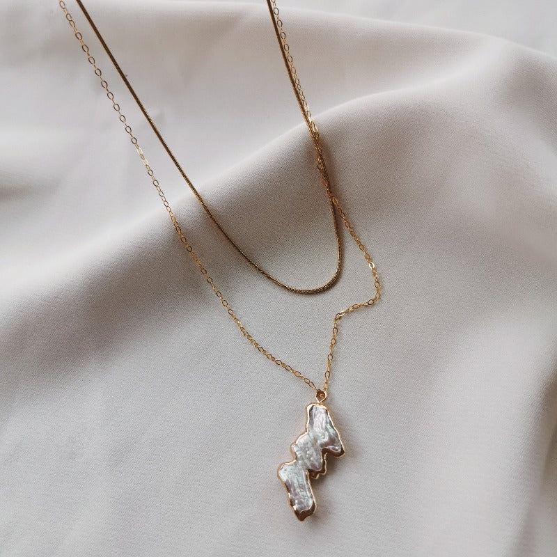 Limitless | Cora Double Layer Necklace