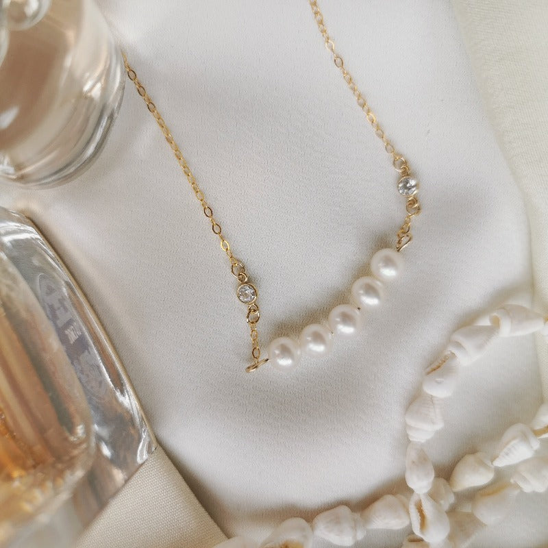 Fairy | Natalie Pearl Choker Necklace