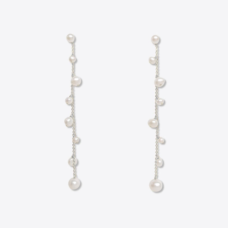 V | Charlotte Long Drop Earrings