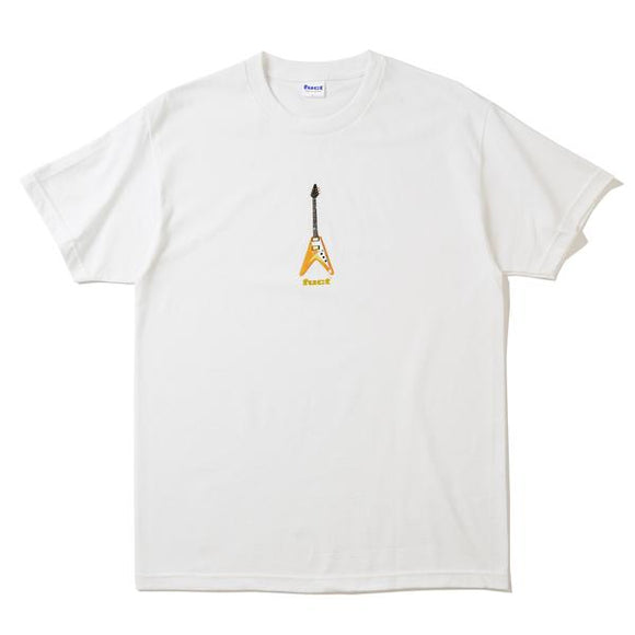 FUCT FLYING V T-SHIRT WHITE - deviceone