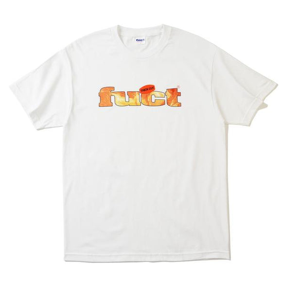 FUCT THICK CUT T-SHIRT WHITE - deviceone