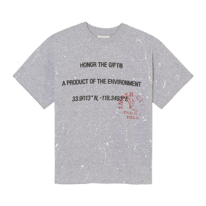 HONOR THE GIFT 10K T-SHIRT PAINTER GREY - deviceone