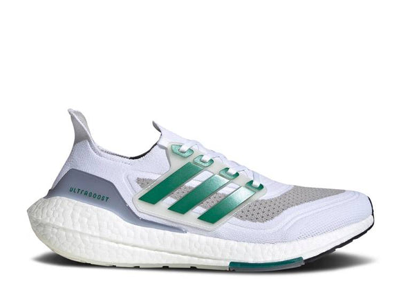 ADIDAS ULTRABOOST 21 'WHITE SUB GREEN' - deviceone