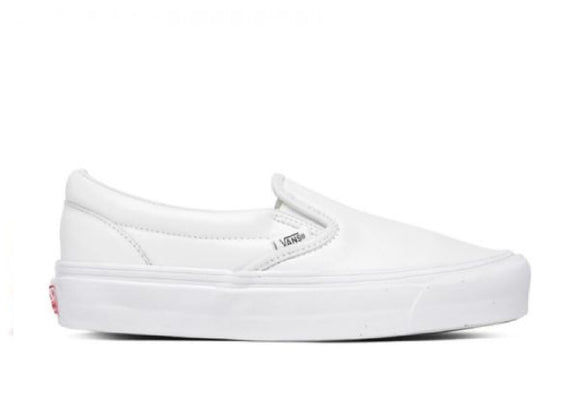 VANS OG CLASSIC SLIP-ON VLT WHITE - deviceone