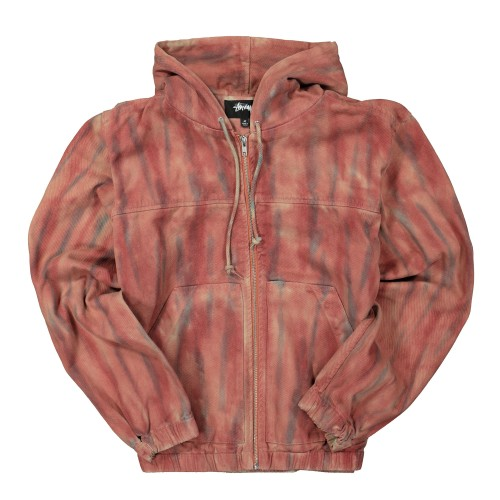 STUSSY DYED WORK JACKET - deviceone